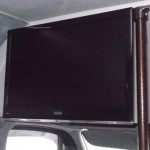 TV v mikroavtobuse